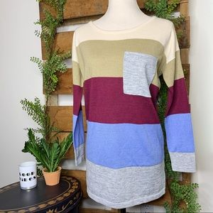 Staccato | Oversized Colorblock Sweater